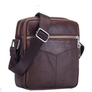 Other - Cow leather messenger bag.